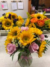 Sunshine & Roses for Mom