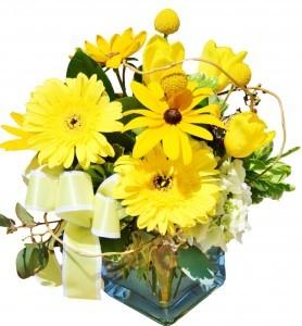 Sunshine Smiles Fresh Flowers