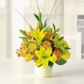 Sunshine splendor mixed bouquet