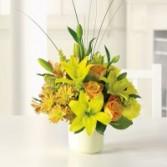 Sunshine splendor mixed bouquet