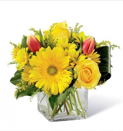 Sunshine Spring small vase Vase