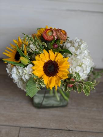 Sunshine Sunflowers Fresh Arrangement