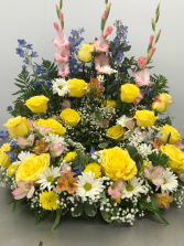 SUNSHINE URN WREATH