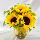Sunshine Vase Arrangement