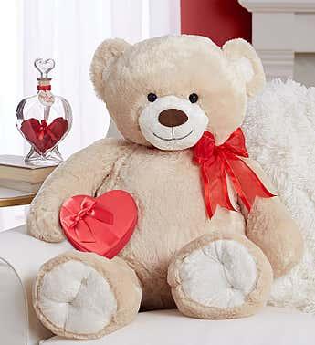 Super Large Teddy w/ Chocolates