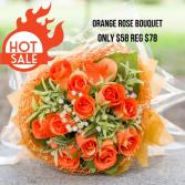 Super Sale Orange rose Bouquet