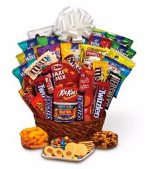 Super Sweet Snack Basket gift basket