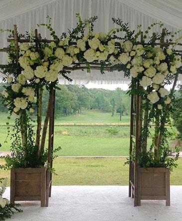 Superb Serenity Altar Arrangement