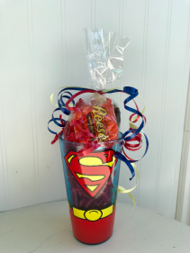 Superman Candy Cup