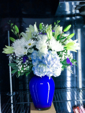 Supreme Blue Floral Arrangement