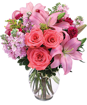 Supremely Lovely Floral Arrangement in Monroe, NC | MONROE FLORIST & GIFTS