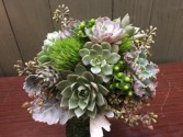 Supurb Succulents Bridal Bouquet