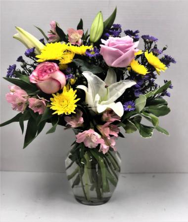 Sure Is Pretty Fresh Flower Vase