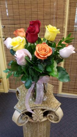 Surprise Dozen Roses