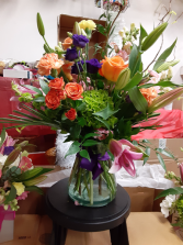surprise to see me vase arrangement for all occasion