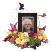 Surrounded by Love - As Shown (Deluxe) Arrangement in Naugatuck, CT | TERRI'S FLOWER SHOP