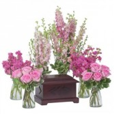 Surrounded by Love in Pink Urn