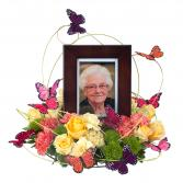 Surrounded by Love Memorial Arrangement