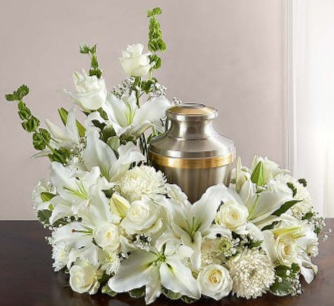 Surrounded By Love Urn Wreath