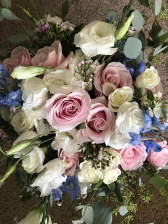 Surrounded in Eucalyptus Bridal Bouquet