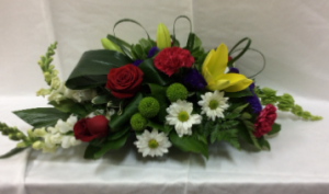 Susan's Mixed Medley table centre piece  in Goderich, ON | LUANN'S FLOWERS & GIFTS