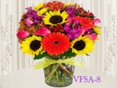 Sunshine Bliss Floral Arrangement