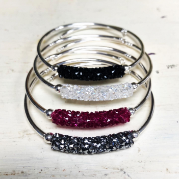 Swarovski Crystal Bar Bracelet