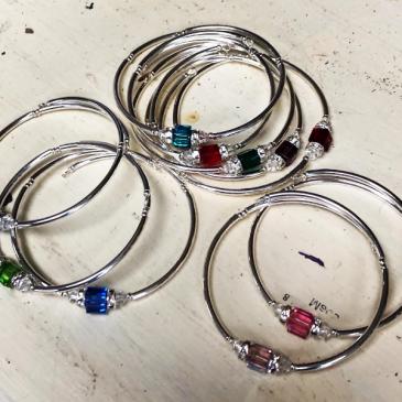 Swarovski Crystal Birthstone Bracelet