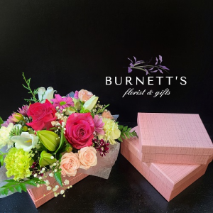 Bento Box Arrangement in Kelowna, BC | Burnett's Florist