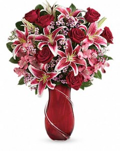 Sweep Her Off Her Feet!! With The Wrapped With Passion Bouquet