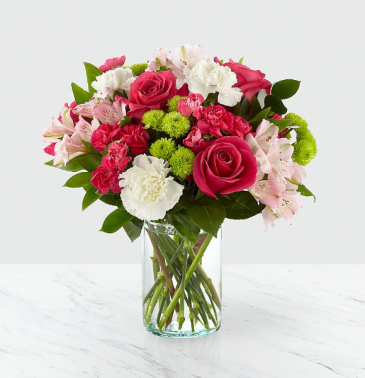 Sweet and Pretty Vase Arrangement