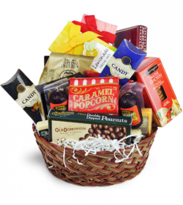 Sweet and Salty Snack Basket