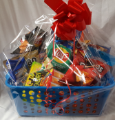 """Sweet and Salty"" snack basket. Deliver same day. No substitutions...premade"