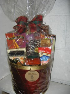 Sweet and Savory  Gift Basket in Vernon, BC | SIMPLY BASKETS AND HARRIS FLOWERS