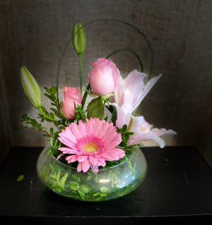 sweet and simple Flower Arrangement in Airdrie, AB   Flower Whispers