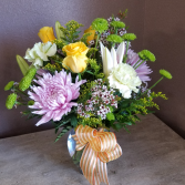 Sweet and simple Vase arrangement