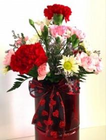 Sweet and Spicy Valentine Arrangement