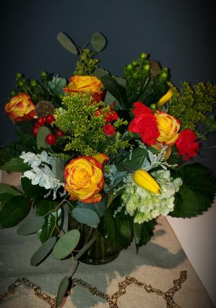 Sweet and Spicy  Vased arrangement