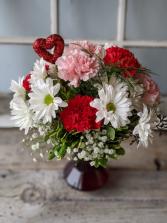 Sweet and Unique Floral Arrangement