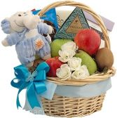 SWEET ARRIVAL BOY GIFT  BASKET
