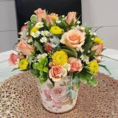 Sweet as Honey Vased Arrangement