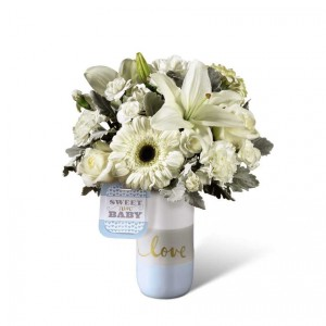 Sweet Baby Boy  FTD® Bouquet by Hallmark  in Auburn, AL | AUBURN FLOWERS & GIFTS