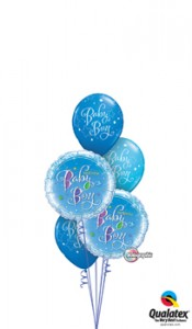 Sweet baby boy balloons