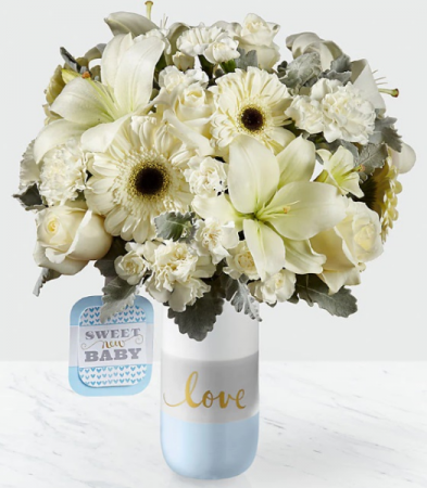 Sweet Baby Boy Baby Bouquet