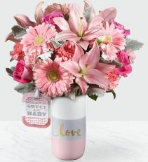 Sweet Baby Girl Baby Bouquet