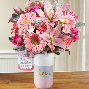 Sweet Baby Girl™ Bouquet by Hallmark  in Clarksville, TN | FLOWERS BY TARA AND JEWELRY WORLD