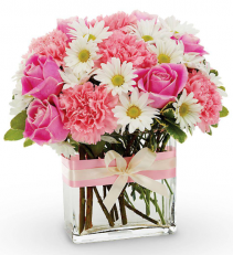 Sweet Baby Girl Floral Arrangement