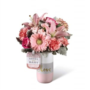Sweet Baby Girl FTD® Bouquet by Hallmark  in Auburn, AL | AUBURN FLOWERS & GIFTS