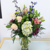 SWEET BLOOMS VASE ARRANGEMENT