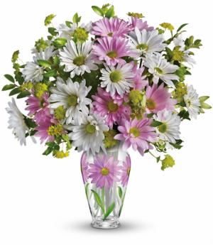 Sweet Blossoms All-Around Floral Arrangement in Winnipeg, MB   KINGS FLORIST LTD